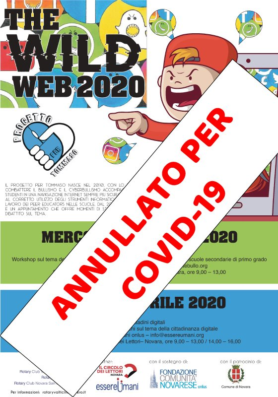 The Wild Web 2020 Covid-19
